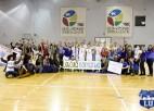 Foto: ''Studentu derbijā'' Latvijas Universitāte uzveic ''Turību''
