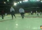 """Video: """"Red Bull Crashed Ice"""" fināls Rīgā"""