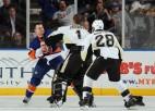 NHL piespriež diskvalifikācijas ''Islanders'' un ''Penguins'' hokejistiem