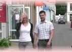 """Video: """"Sporta Avīze"""" konkursa apņemšanās """"nēsāt līgavu uz rokām"""" - izpildīta"""