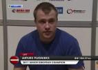 Video: Plēsnieks iegūst 5. vietu Eiropas čempionātā