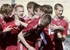 Džeriņš izrauj Latvijas U17 izlasei vēl vienu uzvaru pret Moldovu