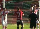 """Video: Karašauska vārti ieved """"Liepāju"""" UEFA Eiropas līgas kvalifikācijas otrajā kārtā"""