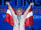 Koha Latvijas čempionātā sasniedz jaunus valsts rekordus