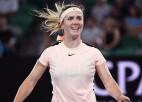 """""""Australian Open"""" pirmā ceturtdaļfinālu diena ar četriem lieliem favorītiem"""
