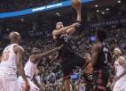 """""""Knicks"""" zaudē ar -25, Bostona pagarinājumā pieveic Vašingtonu"""