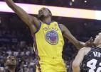 """Bertānam 13 punkti pret """"Warriors"""", Durents atņem uzvaru """"Spurs"""""""