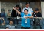 Maradonu pēc Argentīnas uzvaras piemeklējušas veselības likstas
