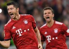 """""""Bayern"""" uzvar mazākumā; Dortmundes rezultativitāte turpinās"""