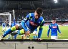 """""""Napoli"""" uzvar un paceļas uz sesto vietu """"Serie A"""""""
