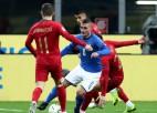 Itālija un Portugāle vārtus negūst, Lietuva arī pēc piecām spēlēm bez punktiem