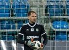"""Šteinboram un """"Arka"""" <i>sausā</i> spēle pret Polijas čempionāta līderi"""