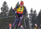 Kuzmina un Fialkova izcīna Slovākijai dubultuzvaru masu startā