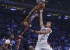 """Viljamsa trejači palīdz """"Clippers"""" uzvarēt Ņujorkā un pakāpties par divām vietām"""