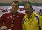 Arī svarcēlājs Griškovs garantē vietu Eiropas čempionāta desmitniekā