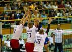 Vīriešu volejbola izlasei dienaskārtībā Beļģijas eksāmens