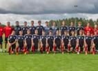 Latvijas U17 izlase Federācijas kausu iesāk ar neizšķirtu pret Ukrainu