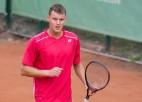 """Mārtiņš Podžus Polijā izcīna piekto """"Futures"""" vienspēļu titulu"""