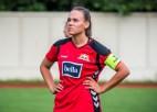 """""""Rīgas Futbola skola"""" piekāpjas Austrijas čempionei un paliek pēdējā vietā grupā"""