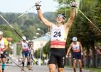 Vīgants Madonā izcīna Latvijai vēsturisku medaļu rollerslēpošanas PČ