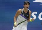 """Andresku un Benčiča apliecina favorītu statusu, pirmoreiz tiekot līdz """"Grand Slam"""" pusfinālam"""