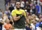 """Berretīni piecu setu cīņā uzvar Monfīsu un pirmoreiz iekļūst """"Grand Slam"""" pusfinālā"""