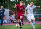 """Latvija """"Euro U21"""" kvalifikāciju atklāj ar minimālu neveiksmi pret Poliju"""