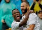 """Madrides """"Real"""" dominē otrajā puslaikā un gūst svarīgu uzvaru pār """"Atletico"""""""