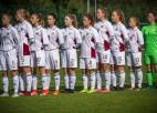 Latvijas U17 un U19 meiteņu izlasēm zaudējumi pārbaudes mačos