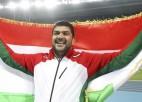 Dopinga dēļ PČ nevarēs startēt olimpiskais čempions vesera mešanā