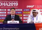 IAAF prezidents Dohā aizvadīto PČ uzskata par visu laiku labāko, neskatoties uz karstumu