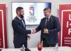 """LHF 2021. gada PČ rīkošanas tiesības oficiāli nodod meitas uzņēmumam """"Hokeja akadēmija"""""""