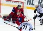 """Fjodorovs iemet pēdējā minūtē, """"Rīga"""" vēlreiz viesos pieveic čempionus"""