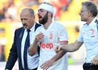 """""""Juventus"""" bez Ronaldu neuzvar pastarīti, tīnis gūst supervārtus no brīvsitiena"""