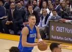Video: Porziņģis šosezon pirmoreiz iekļūst NBA dienas topā