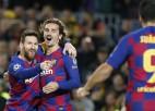 """Mesi savā 700. spēlē """"Barcelona"""" kreklā palīdz klubam iekļūt ČL """"play-off"""""""