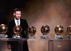 "Mesi sesto reizi karjerā saņem ""Ballon d'Or"" balvu"