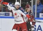 """Rīgas """"Dinamo"""" piekāpjas bez līderiem spēlējošajai CSKA"""