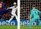"""Madrides """"Real"""" parāda labāku futbolu, pirmais 0:0 <i>El Clásico</i> 17 gados"""