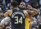 NBA vadībā arvien lielāks optimisms par sezonas atsākšanu