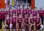 Pinnis un Meinarts iespēlējas, U16 puiši galotnē zaudē Zviedrijai