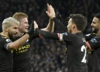 "Agvero labo rekordus, ""Manchester City"" iesit sešus vārtus ""Aston Villa"""