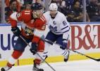 """Pārtrūkst """"Lightning"""" desmit uzvaru sērija, Florida iemet astoņus vārtus pret """"Maple Leafs"""""""