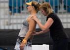 "Kerberei pirms ""Australian Open"" muguras savainojums"