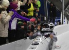 Melbārdis un Dambis Siguldā uzvar Eiropas kausa posmā