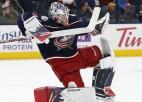 Merzļikinam vēsturiska atzinība - pirmais latvietis NHL debitantu izlasē