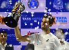 Atspēlējot sešas mačbumbas, Veselijs Indijā izcīna otro ATP titulu