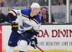 NHL spēles laikā saļimušais Boumīsters atgriezies Sentluisā