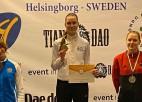 Jolanta Tarvida triumfē pasaules reitinga turnīrā, vecākā māsa piektā