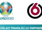 Eiropas čempionāta finālturnīra spēles būs vērojamas kanālā TV6